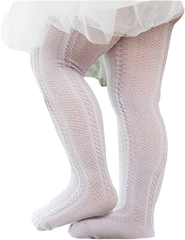 Taiycyxgan Unisex Baby Cable Knit Tights Summer Mesh Leggings Pants Stocking 5-Pack
