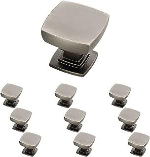 Franklin Brass P29542K-904-B Parow Kitchen Cabinet Hardware Knob, 10 Pack, Heirloom Silver