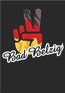 Indigos UG - Stickers - Autosticker - Duitsland - stad Bad Belzig - Victory - overwinning - achterruit, kofferbak, laptop,...
