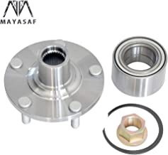 MAYASAF 518516 Front Wheel Hub Bearing Assembly 5 Lugs Non-ABS Fit 2000-01 Infiniti I30, 02-04 I35, 2002-06 Nissan Altima, 00-08 Maxima.