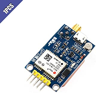 Ximimark NEO-7M UBLOX GPS Satellite Positioning Module with SMA Antenna Interface for Arduino STM32 C51 Replace NEO-6M 3.3V/5V Power Supply 1Pcs