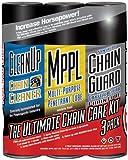 Maxima Racing Oil Maxima - Ultimate Chain Wax Care Kit 3-PK 70-779203 PU 70-779203