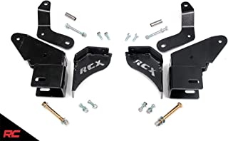 Rough Country Control Arm Drop/Relocation Kit compatible w/ 1984-2001 Jeep Cherokee XJ w/ 4