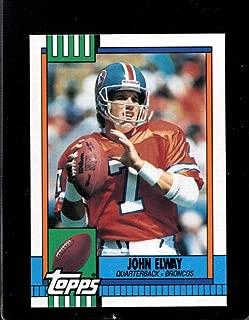 john elway topps card 37