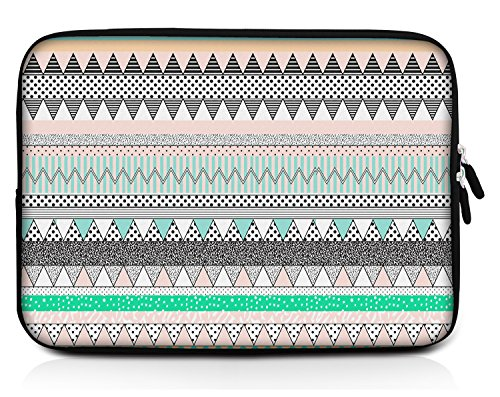 Sidorenko Designer Tablet Tasche für 9,7 Zoll aus Neopren max. Geräteabmessungen 25,7 cm x 19 cm