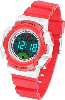 Kids Digital Watch, Boys Girls 30M(3ATM) Waterproof Night Light Multifunctional Sports Outdoor Wrist Watches with Alarm fo...