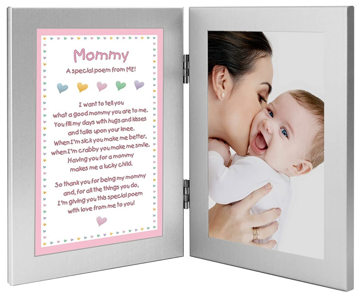 導入する喜んで努力する娘、赤ちゃん、幼児からの母のギフト - MEからの特別な詩、写真を追加