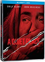 A Quiet Place STEELBOOK (Blu-ray + DVD) Audio & Subtitles: English, Spanish, French & Portuguese - IMPORT