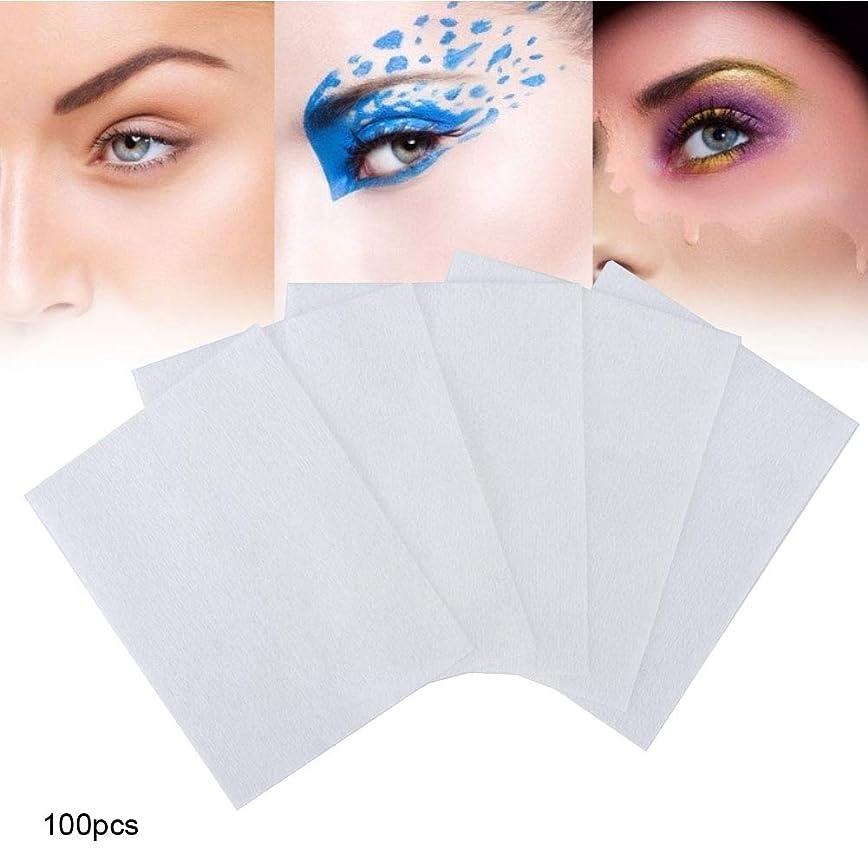 ヤングスパーク疑わしい100個 化粧コットンパッド 化粧を削除する 使い捨て洗顔料