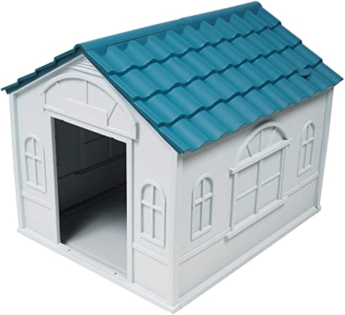 lowest nobrand sale Indoor Outdoor Dog House Small new arrival to Medium Pet All Weather Doghouse Puppy Shelter outlet sale