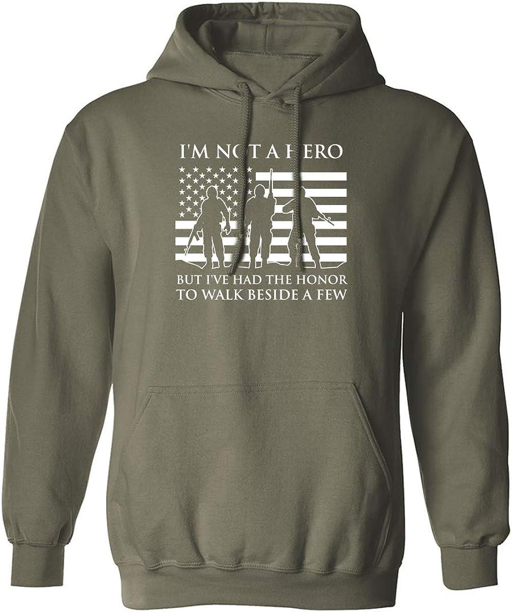 I'm Not A Hero Adult Hooded Sweatshirt