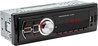 figatia MP3 Bluetooth Car In-Dash Rádio FM Estéreo Receptor Player USB AuxInput