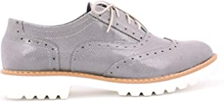 tomamos a los clientes como nuestro dios Zapato 258 258 258 - Zapatos Planos con Cordones de Otra Piel Mujer  edición limitada