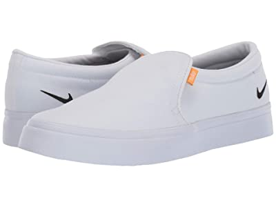 Nike Court Royale AC Slip-On (White/Black/Gum Light Brown) Women