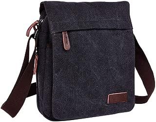 Neumora Small Canvas Messenger Bag Satchel Bag Crossbody Shoulder Bag for men business casual travel