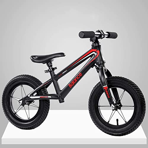 wholesape barato L.tsn L.tsn L.tsn Bicicleta De Equilibrio para Niños Estilo Carrera Montaña Infantil 12 , Marco Acero Al Carbono Antioxidante con Asiento Ajustable  en linea