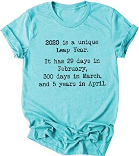 2020 is A Unique Leap Year, It Has 29 Days in February, Quarantine Shirt, 2020 Social Distancing T-Shrits