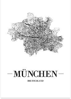 JUNIWORDS Stadtposter - Wähle Deine Stadt - München - 40 x
