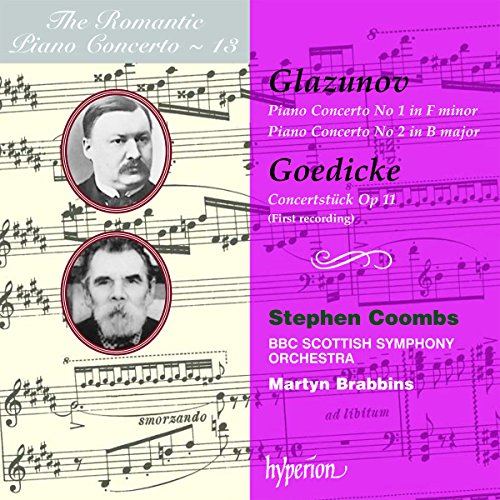 The Romantic Piano Concerto - Vol. 13 (Glasunow / Gödicke)