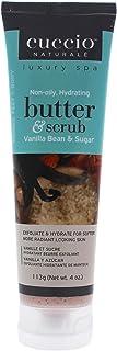 Cuccio Naturalé Butter & Scrub Vanilla Bean & Sugar - Exfoliator for Hand, Body, Feet - Comforting & De-Str...