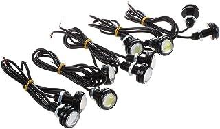 Nrpfell Auto Drl 4 nel 1 12V Eagle Eye LED Luce Stroboscopica di Emergenza Drl Kit Telecomando Luci di Marcia Diurna Ricambi Auto