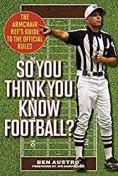 An NFL rule book