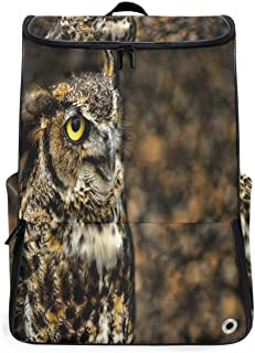 Travel Backpack Domineering Owl Duffle Backpack for Women Large Backpacking Back Pack