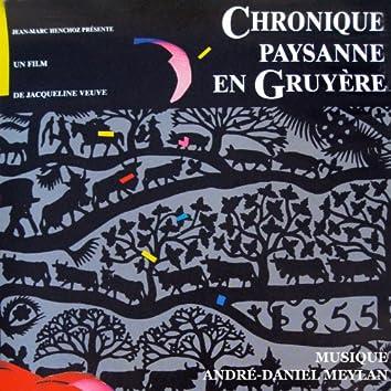 Chronique paysanne en gruyère (Bande originale du film de Jacqueline Veuve)