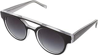 Komono Oval Women's Sunglasses Black KOM S1916 45 20 145 mm