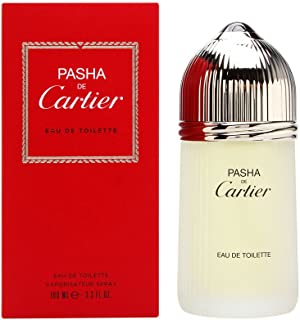 Pasha De Cartier By Cartier Mens Eau De Toilette (EDT) Spray 3.3 Oz