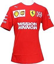 Puma Ferrari Team Herren T-shirt Rosso Corsa XL