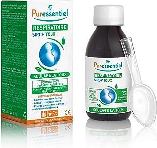 Puressentiel - Respiratoire - Sirop Toux aux Plantes, Huiles Essentielles, Miel, et Propolis - Soulage la toux - Actifs 10...
