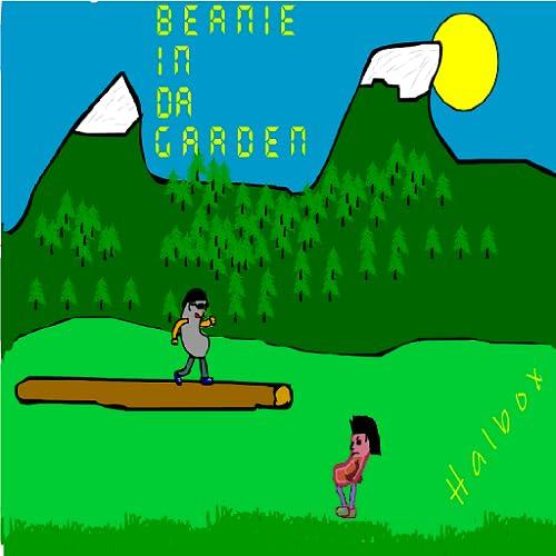 Beanie in da garden