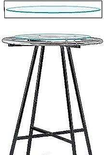 """SSWBasics Glass Round Clothing Rack Topper (30"""" Diameter Tempered Glass)"""