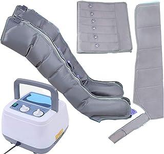 DXFK.AM Presoterapia Compresor De Aire Masajeador De Pies Y Piernas Brazos Cintura Botas De Compresión Máquina Portátil De Salud con Cámara De 6 Cavidades para El Alivio del Dolor Muscular