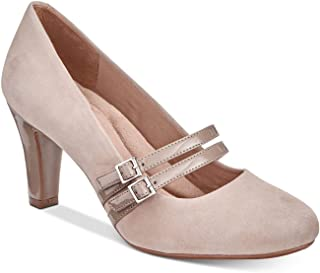 Giani Bernini Womens Vallay Leather Closed Toe Mary Jane Pumps US