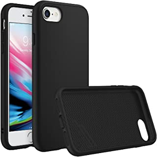 RhinoShield Case for iPhone 8 / iPhone 7 [NOT Plus] | [SolidSuit] | Shock Absorbent Slim Design Protective Cover [11ft Drop Protection] - Classic Black