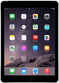 Apple MGLW2LL/A iPad Air 2 9.7-Inch Retina Display, 16GB, Wi-Fi (Silver) (Renewed)