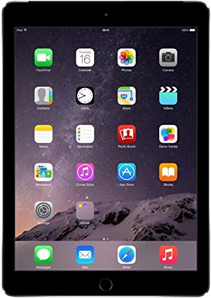 Apple iPad Air 2, 16 GB, Space Gray, Newest Version (Refurbished)