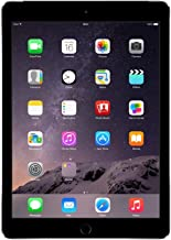 Apple iPad Air 2, 16 GB, Space Gray, Newest Version (Renewed)