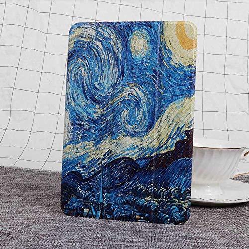 Hannuo Funda para Samsung Galaxy Tab A T550 T555 SM-T550 9,7 Funda con Tapa para Tableta Funda de Cuero con Soporte magnético Inteligente para SM-T 550-Azul