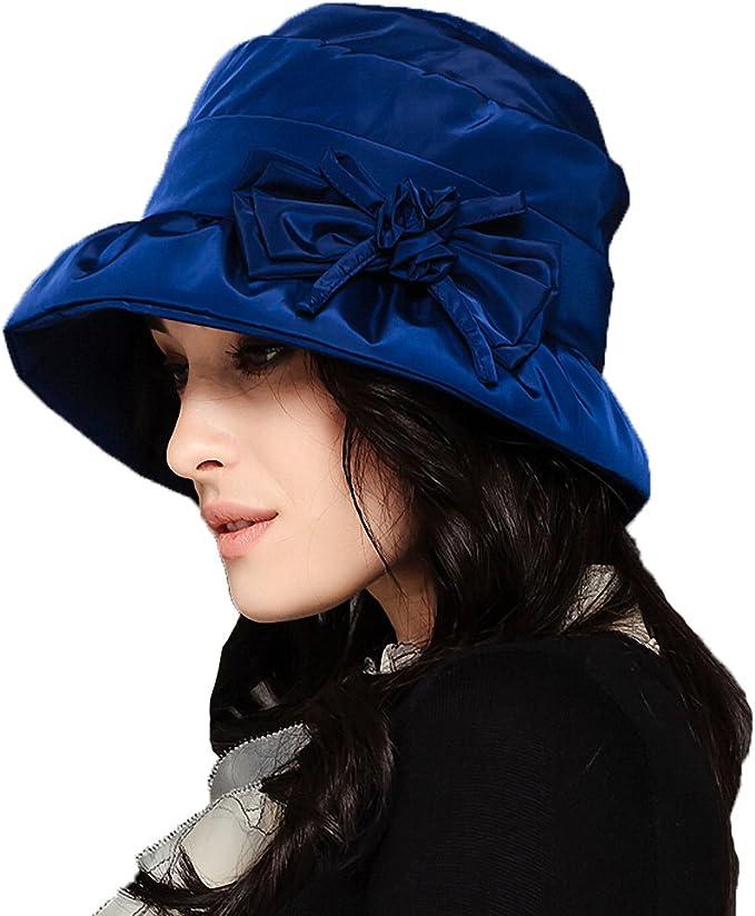 1950s Women's Hat Styles & History Maitose™ Womens Waterproof Windproof Bucket Hat  AT vintagedancer.com