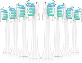WAF CRAFT Replacement Brush Heads Compatible With Sonicare Plaque Control HX9023/HX9024(8pack), fits Philips Sonicare 2 Series, 3 Series, FlexCare, HealthyWhite, DiamondClean Electric Toothbrush