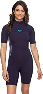 Womens 2/2Mm Syncro Short Sleeve Back Zip Flt Springsuit for Women Erjw503007
