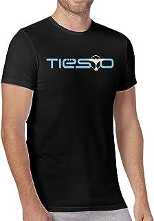 Seuriamin Tiesto Mens Comfortable Sports Short Sleeve Shirts