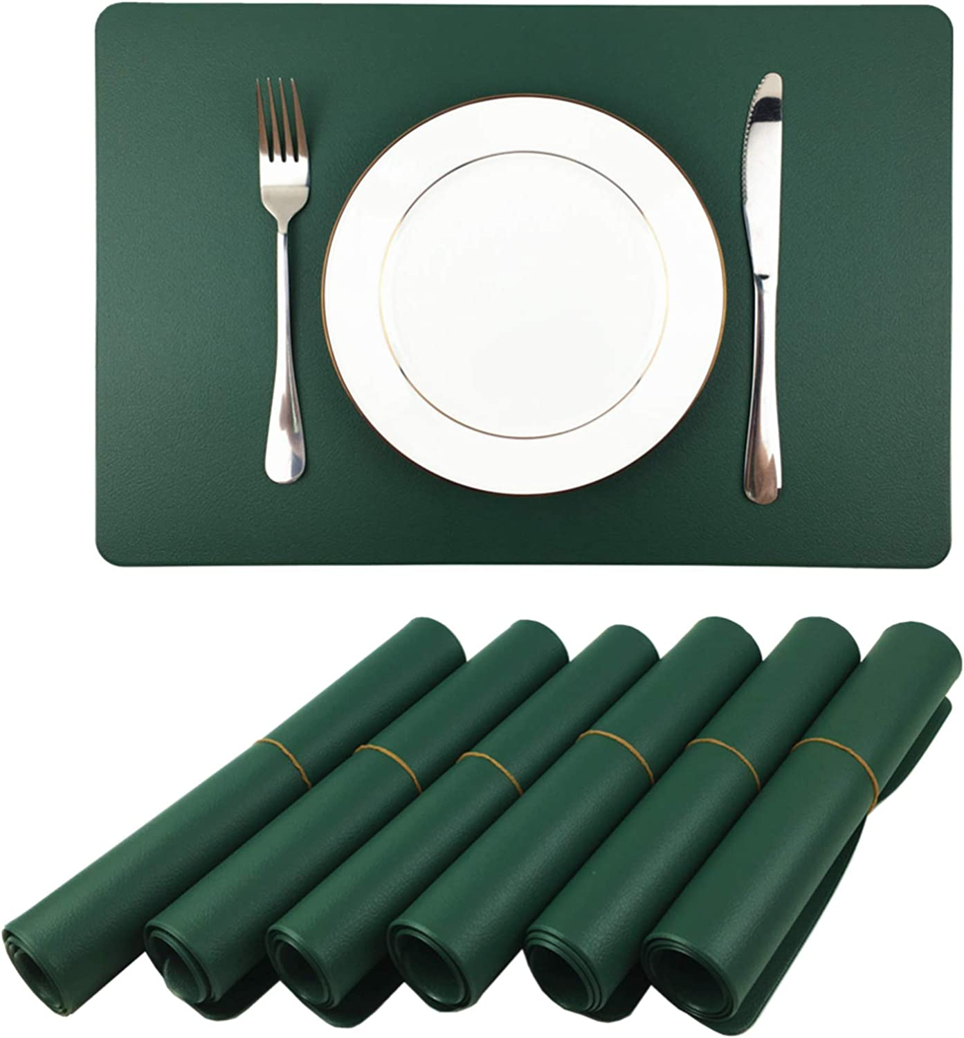 WAZAIGUR specialty shop Placemats Placemat for Dining Table Year-end annual account Waterproof to Easy