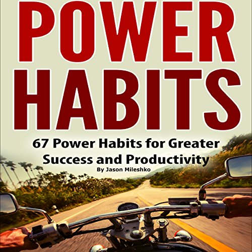 Power Habits audiobook cover art
