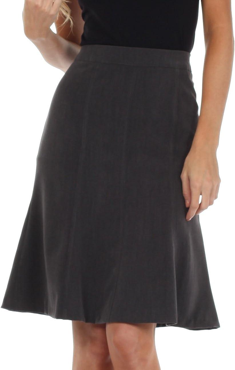 Sakkas Knee Length A-Line Skirt