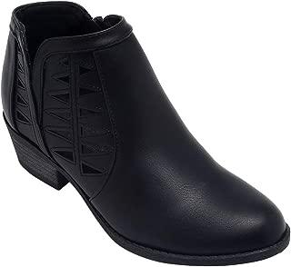 Women's Closed Toe Multi Strap Ankle Bootie