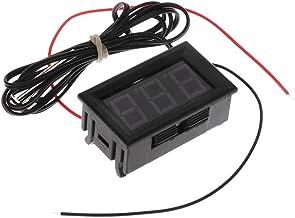 cherrypop 5-12V -50-110 Celsius Indicador de temperatura digital Termometro Detector de temperatura del refrigerador con la sonda, Verde